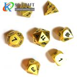 Pearl Gold Metal Dice